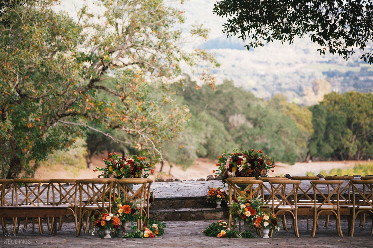 Kent and Jennifer's wedding in Sonoma California at Anderson Ranch.