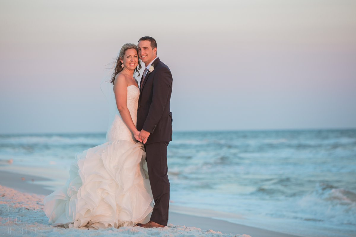 beach wedding on 30a
