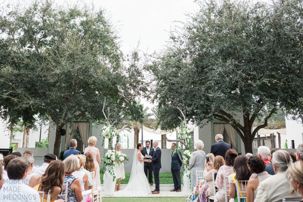 alys beach wedding ceremony