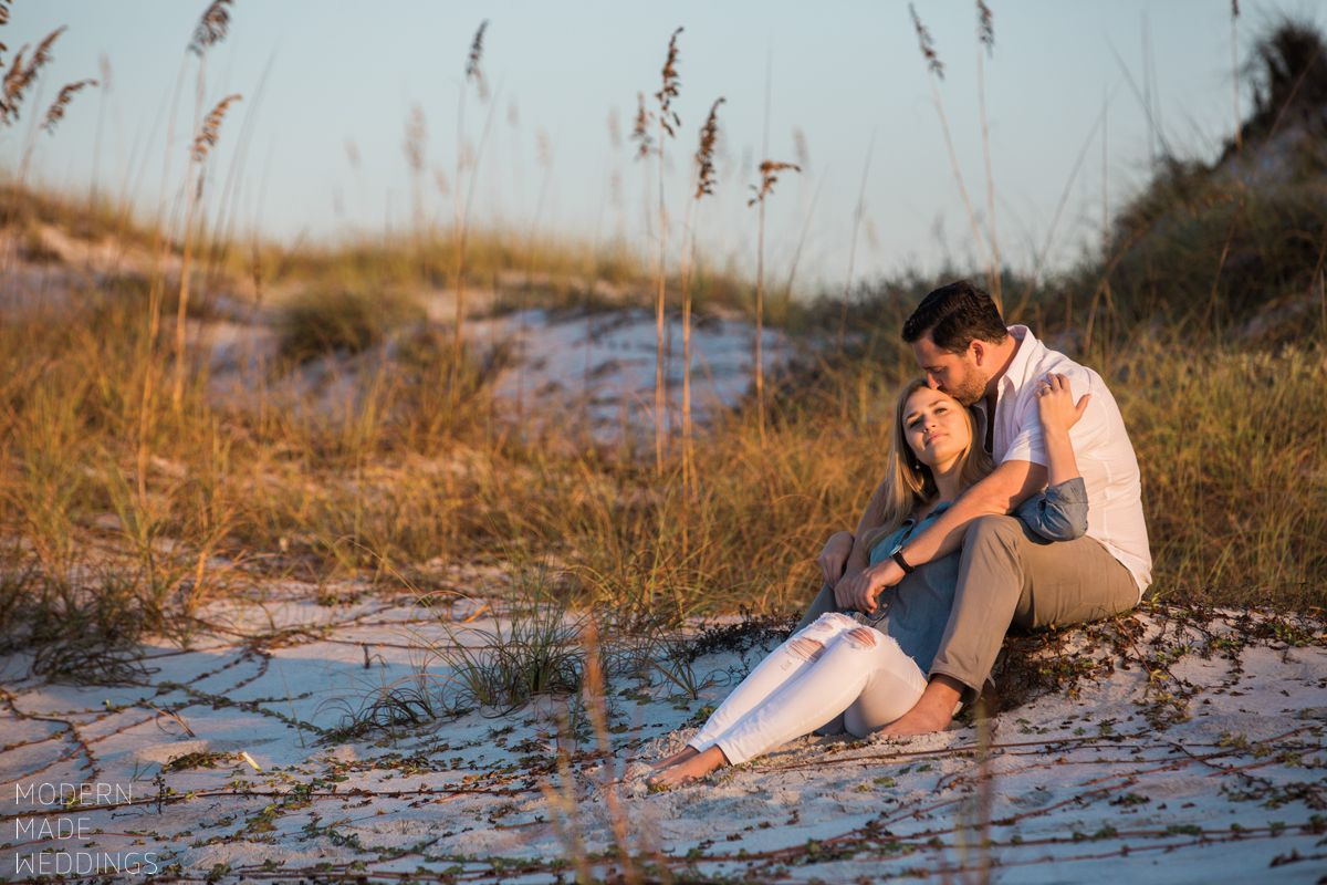 watersound beach engagement session