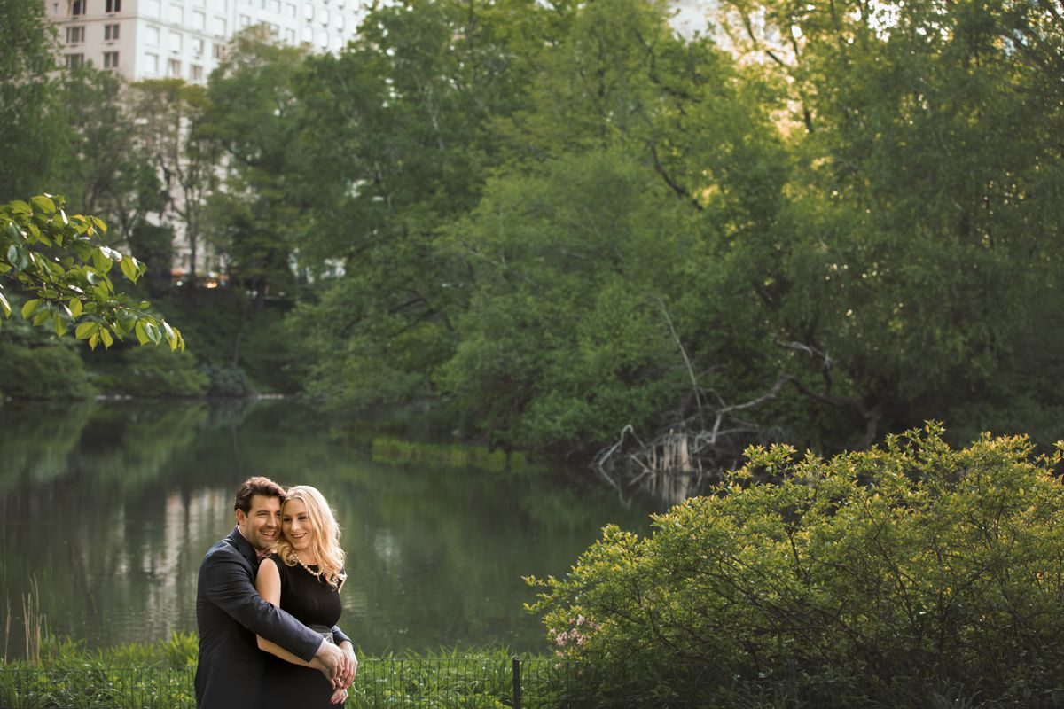 NYC Central Park engagement