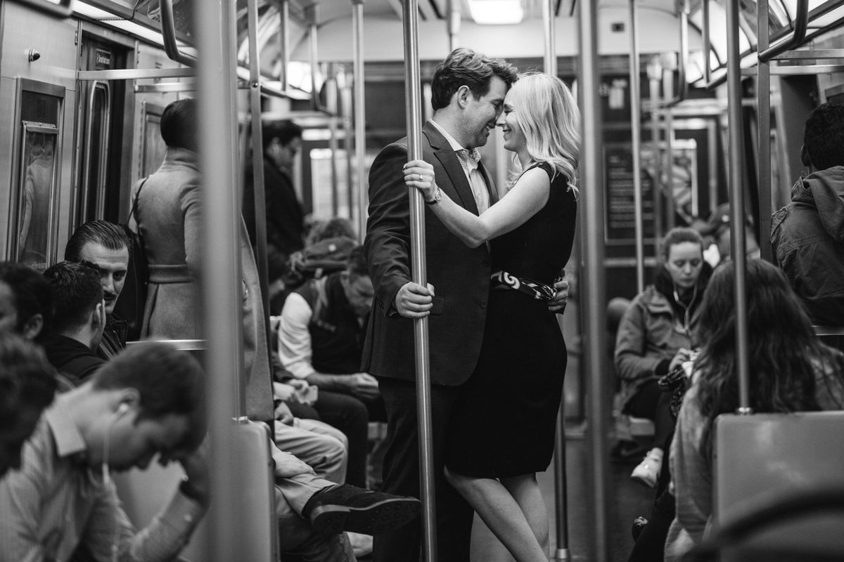 NYC subway engagement