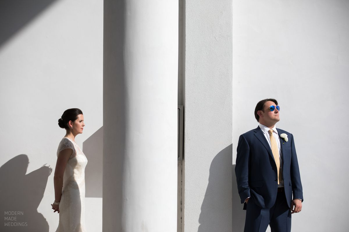 rosemary beach wedding couple