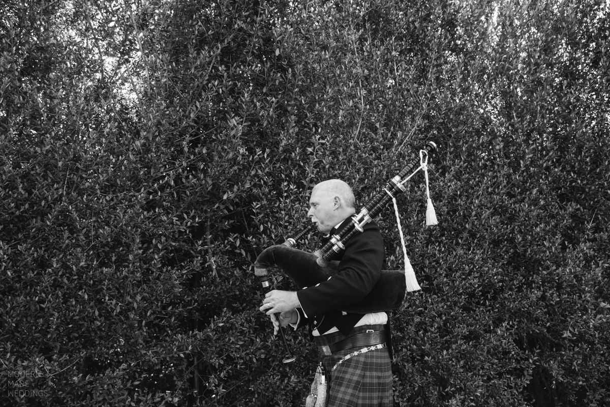 30a wedding bagpipe