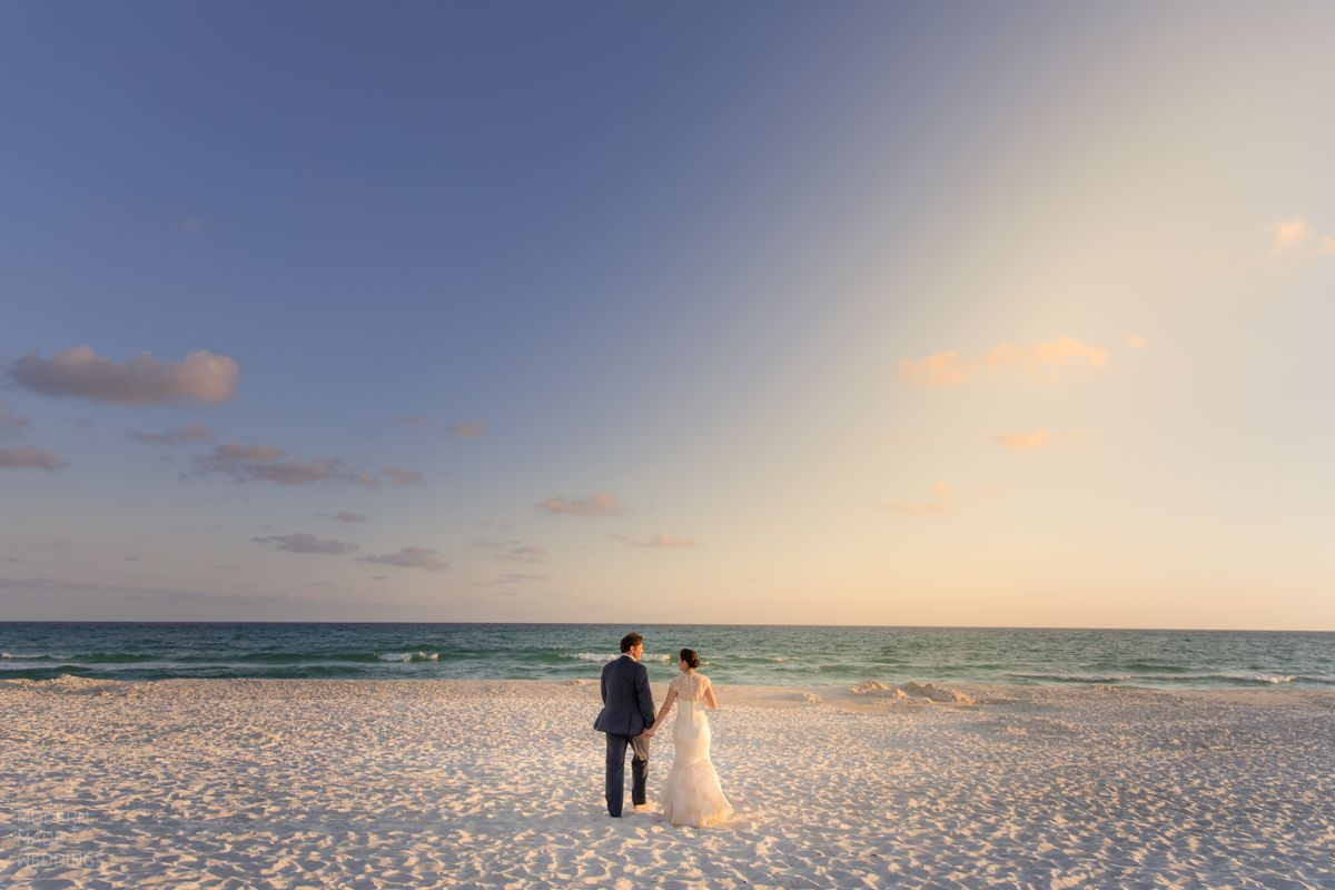 30a beach wedding