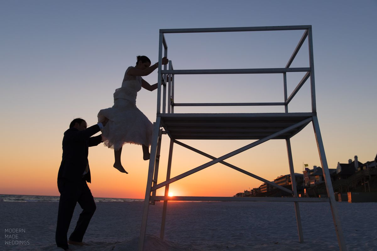 Santa Rosa beach wedding